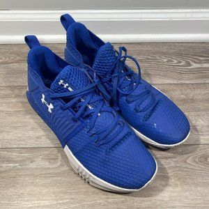 Under Armour UA Sneakers Curry Blue White 3000086